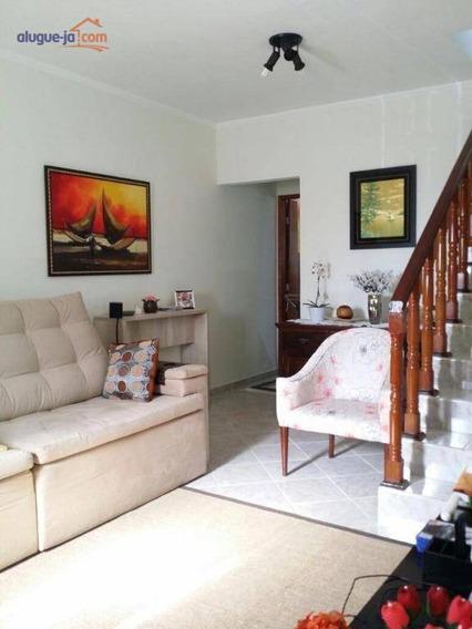 Sobrado Com 3 Dormitórios À Venda, 102 M² Por R$ 480.000 - Jardim Das Indústrias - São José Dos Campos/sp - So0943