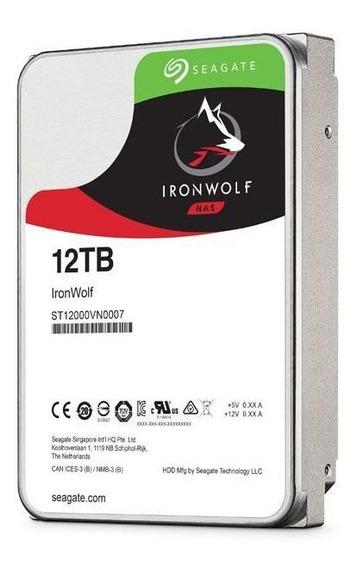 Hd Ironwolf 12tb 7200rpm St12000vn0007 Seagate