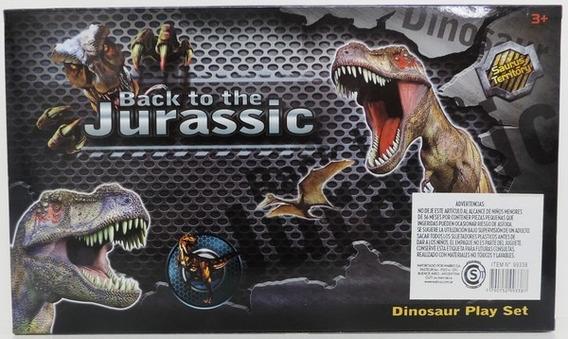 Setde Dinosaurios Back To The Jurassic Chico