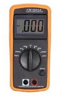 Capacimetro Digital Medidor De Capacitancia Profissional Med