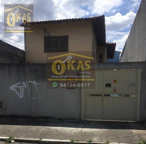 Imagem 1 de 29 de Sobrado Com 5 Dormitórios À Venda, 170 M² Por R$ 380.000,00 - Vila Amorim - Suzano/sp - So0200