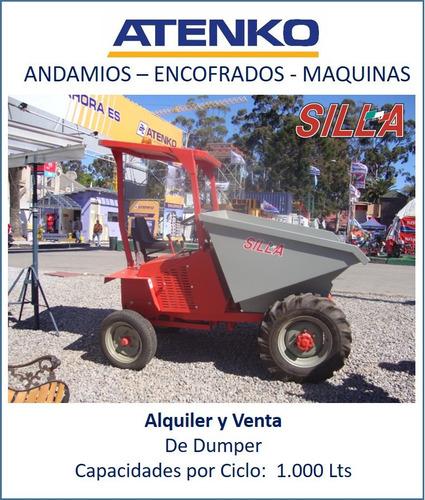 Alquiler Dumper - Carretilla - Cargador Frontal - Volquete
