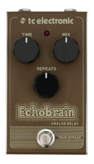 Pedal Para Guitarra Tc Electronic - Echobrain Analogic Delay