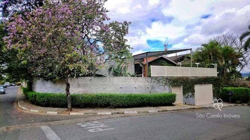 Casa Com 1 Dormitório, 257 M² - Venda Por R$ 1.500.000 Ou Aluguel Por R$ 8.300/mês - Comercial -granja Viana - Cotia/sp - Ca1747