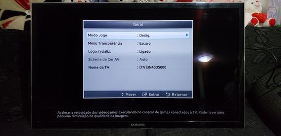 Tv Samsung 42 Pol Semi Nova