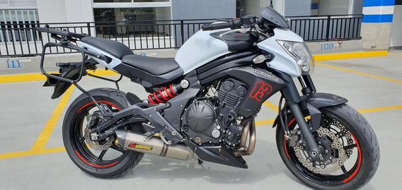 Kawasaki Er 6n 2014 Akrapovic