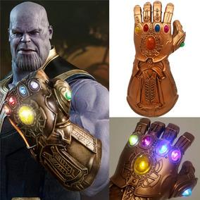 Luva Manopla Do Poder Avengers Thanos Led Já C/ Bateria Top