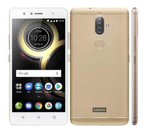 Smartphone Lenovo K8 Plus 32gb Dual Sim 3gb Ram Dourado