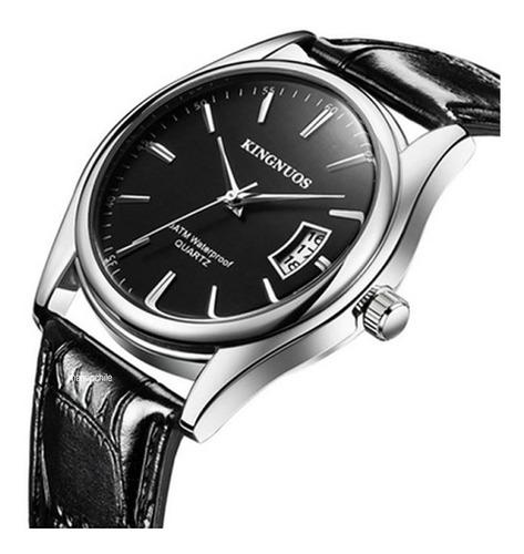 Reloj Kingnuos Elegant Black Original