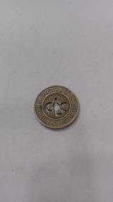 Rara Ficha De Circular(onibus) Antiga Frete R$7,00