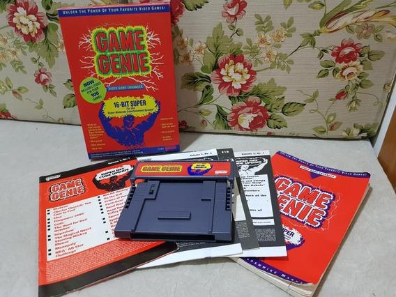 Game Genie Super Nintendo