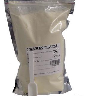 Colageno Hidrolizado En Polvo Bebible 2 Kg. Huesos, Piel,etc