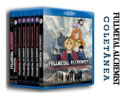 Coletânea Fullmetal Alchemist - Completo Dublado Em Blu-ray