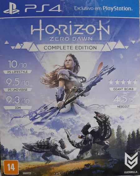 Jogo De Ps4 Horizon Zero Dawn: Versão Completa