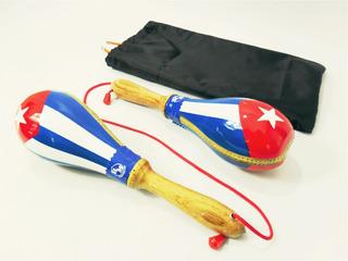 Maraca Profesional Cuero Cuba Funda Envío Incluido