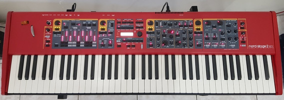 Nord Stage 2 Ex Hp 76 + Suporte Roland 18z + Soft Case