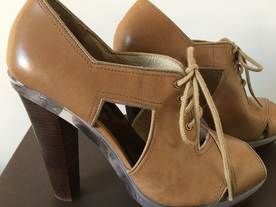 Sapato Michael Kors Couro Caramelo
