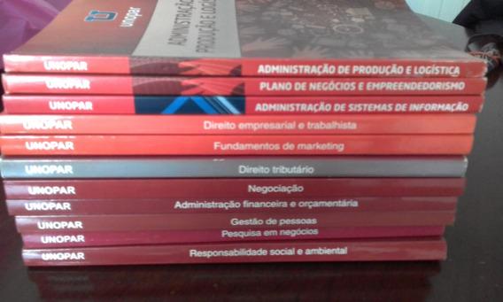 Livros Admistração, Conjunto Com 11 Livros Unopar