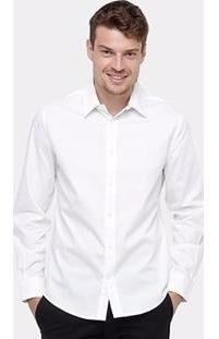 2 Camisas Manga Longa Social Direto Da Fabrica