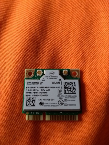 Placa Intel Wireless Bluetooth 2.4g Para Notebook