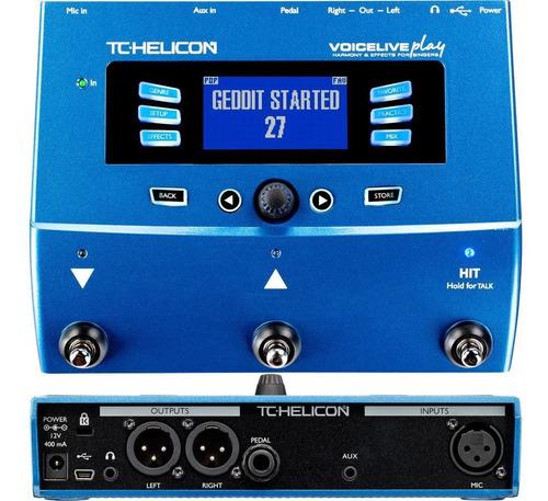 Imagen 1 de 4 de Tc Helicon Voicelive Play Procesador De Efectos Para Voz