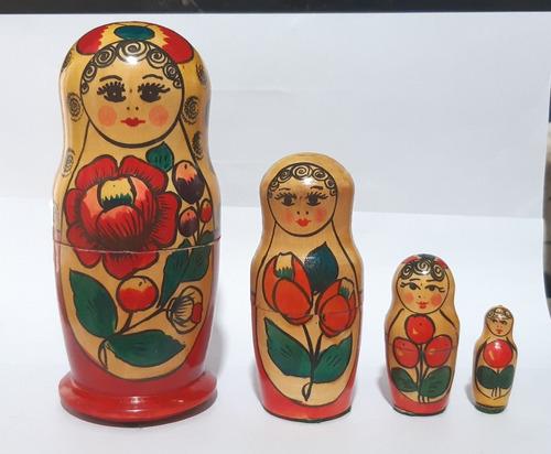 Matrioska / Mamuska Rusas, Pintadas A Mano