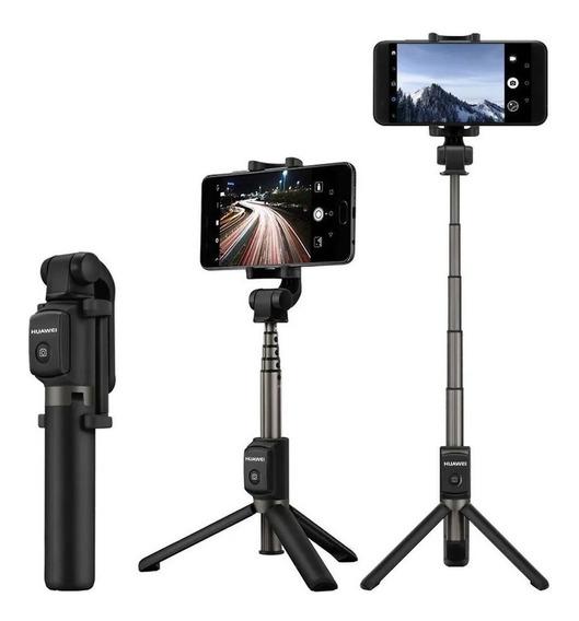 Tripé Pau De Selfie Huawei Stick Com Controle Bluetooth