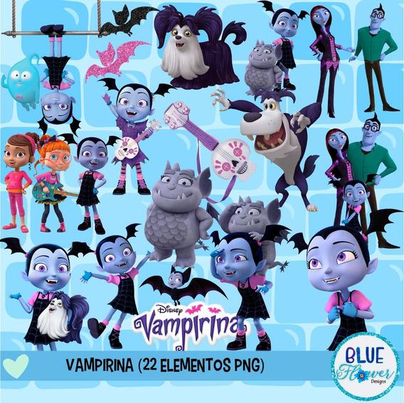 Kit Imprimible Vampirina - Imagenes Png- Cliparts-