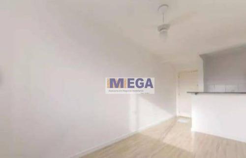 Apartamento Com 2 Dormitórios À Venda, 49 M² Por R$ 185.000 - Loteamento Parque São Martinho - Campinas/sp - Ap4693