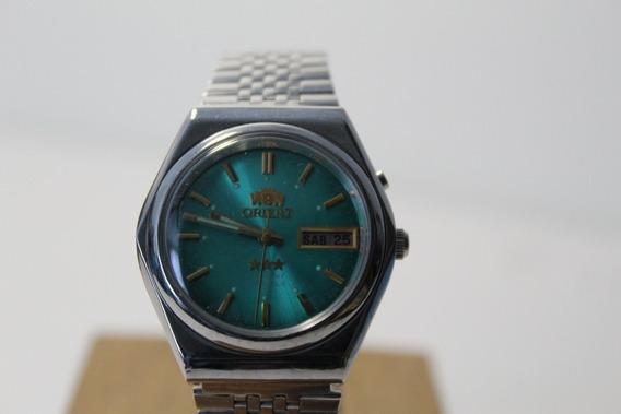 Reloj Orient Automático 3 Estrellas Cristal 1971