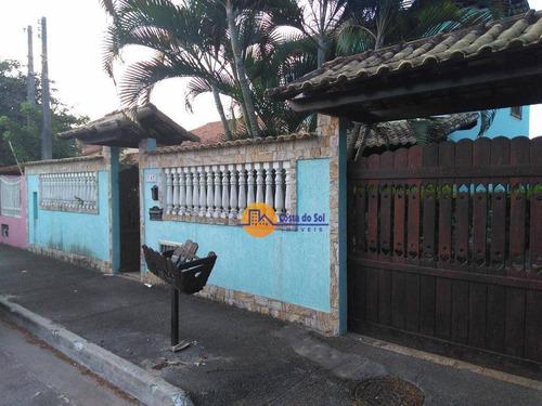 Casa Com 5 Dormitórios À Venda, 220 M² Por R$ 650.000,00 - Recreio - Rio Das Ostras/rj - Ca1724