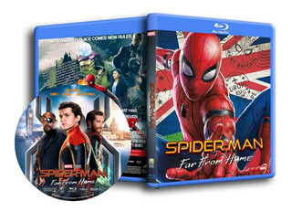 Spider-man: From Home 5 Bluray Completa Tu Colección Marvel