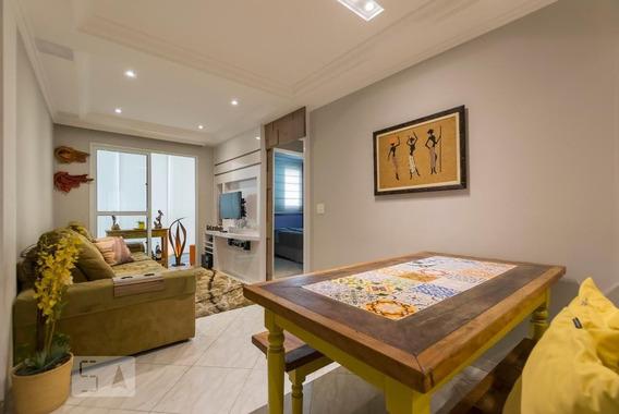 Apartamento No 1º Andar Mobiliado Com 2 Dormitórios E 1 Garagem - Id: 892965649 - 265649