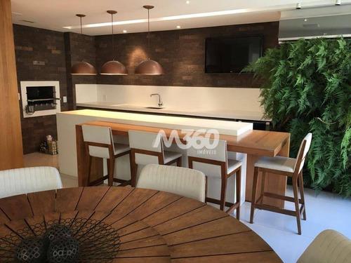 Imagem 1 de 24 de Apartamento Duplex Com 4 Dormitórios À Venda, 264 M² Por R$ 2.050.000,00 - Setor Bueno - Goiânia/go - Ad0001