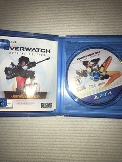 Juego De Ps4 Overwatch Original