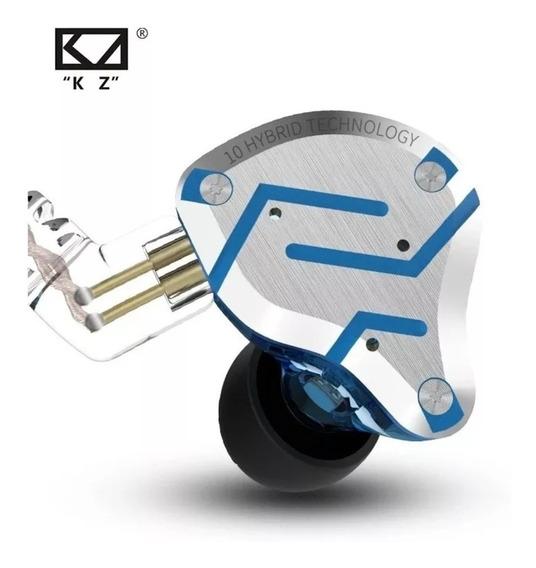 Fone Kz Zs10 Pro S/ Mc + Case