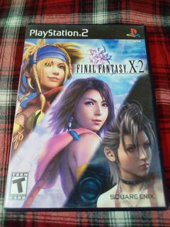 Final Fantasy X2 - Playstation 2 - Original - Completo