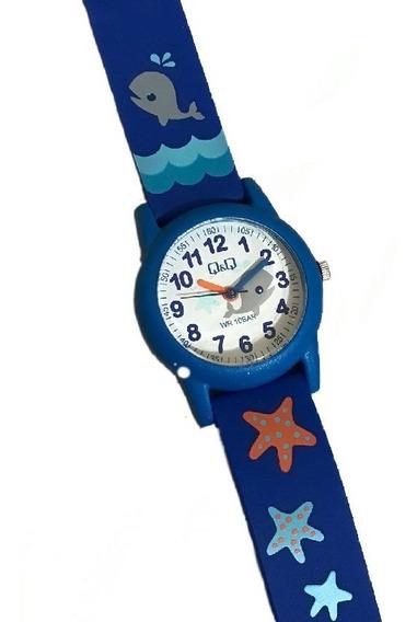 Reloj Q&q Delfín