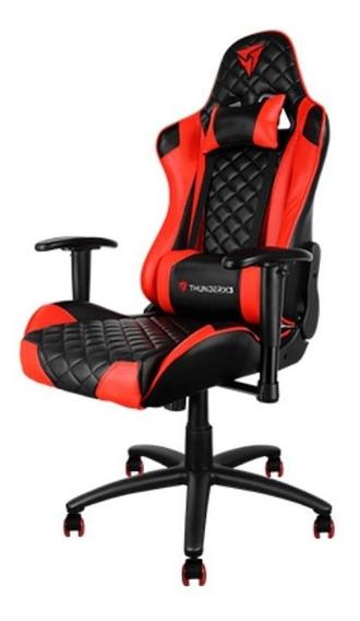 Cadeira Gamer Thunder X3 Tgc12 Reclinável Preto/vermelho
