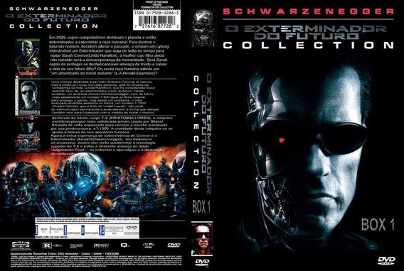Exterminador Do Futuro Coleção 5 Filmes Dublado E Legendado