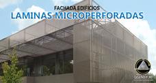 Fachada Laminas Microperforadas Medellin Y Toda Colombia