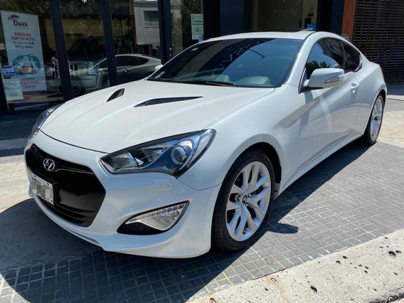 Hyundai Génesis 3.8 V6 At Coupe 2013 Blanco Cassano Automobi