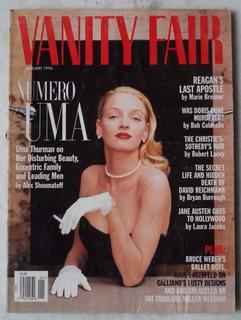 Revista Vanity Fair Jan/96 Em Inglês