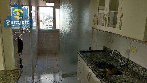 Apartamento Com 2 Dormitórios À Venda, 59 M² Por R$ 300.000,50 - Vila Pires - Santo André/sp - Ap0548