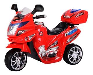Moto Carro Electrica Niños Recargable Roja Rosada Azul Negra