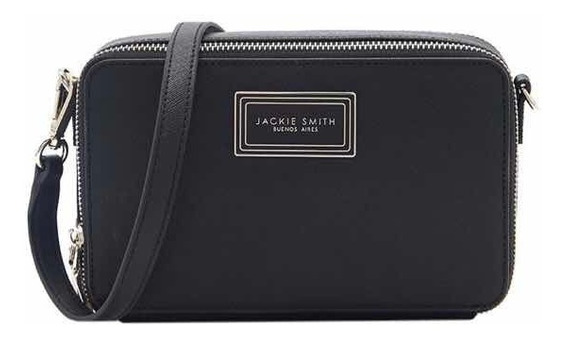 Cartera Jackie Smith Claire Negra Nueva