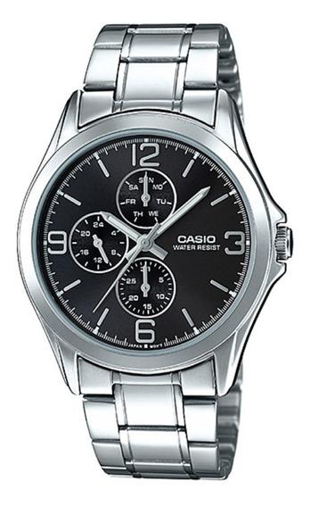 Relógio Casio Aço - Mtp-v301d-1audf
