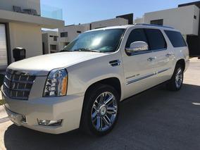 Cadillac Escalade Esv Platinum Único Dueño Factura Agencia