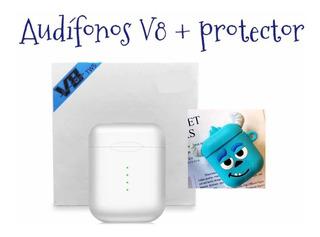 Audífonos V8 Tws AirPods/audífonos Touch/ Envío Gratis