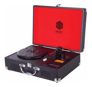 Tornamesa Portátil Select Sound Bt8000 Bluetooth Recargable